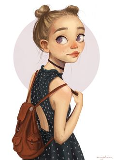 Beautiful work by Magdalena Dianova .. @mbgrace98 this looks like you hahah ^_^