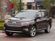 Toyota Highlander Годы выпуска: 2010 - 2014