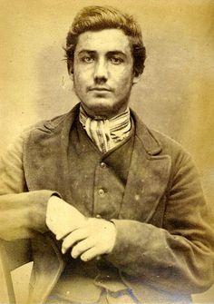 John Allan 19 Year Old Convicted Thief Newcastle Ca 1873