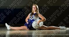 Cheerleading. Splits. York high.