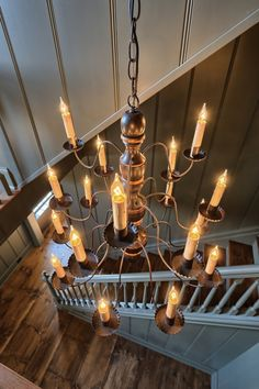 Classic Colonial Homes Interior Chandelier