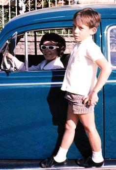 O menino Ayrton Senna