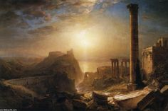Syria by the Sea, Oil On Canvas by Frederic Edwin Church (1826-1900, United States)