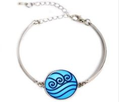 Avatar The Last Airbender Water Tribe Glass Bracelet