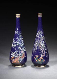 Japanese Beauty, Japanese Art, Japanese Packaging, Most Beautiful Words, Chinese Design, Vintage Vases, Bottle Art, Porcelain Vase, Asian Art