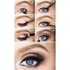 How To Flatter Blue Eyes Makeup Mania ❤ liked on Polyvore featuring beauty products, makeup and eye makeup