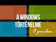 A Microsoft Windows történelme, 8 percben - YouTube