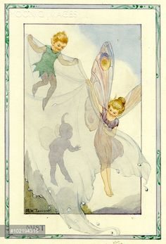 'Mist Fairy' - Illustration from the book 'The Weather Fairies'