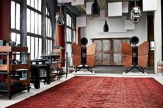 Monarch Speakers! Oswaldsmill Audio - Showroom