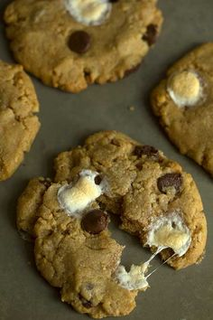 Jif S'more Peanut Butter Cookies | Grandbaby Cakes