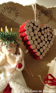 corks from wedding for first Christmas married idea
