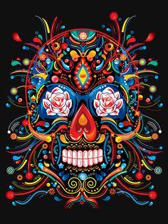 Full Square/Round Drill DIY Diamond Painting Skull Embroidery Cross Stitch Mosaic Rhinestone H Diamond Drawing, 5d Diamond Painting, Catrina Tattoo, Chicano Art, Chicano Tattoos, Yakuza Tattoo, Art Tattoos, Diamond Picture, Day Of The Dead Art