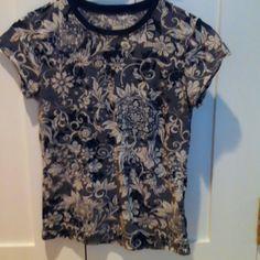 Tee shirt Thin printed tee Calvin Klein Tops Tees - Short Sleeve
