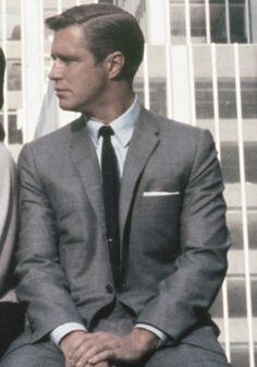 Paul Varjak ( George Peppard) in Breakfast at Tiffany's. From The 10 Best Suits On Film.