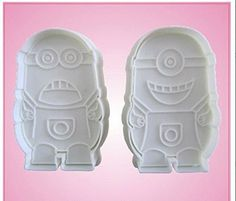 Despicable Me Minions Cookie Cutters Molds Tool For Cookies, Cakes, Biscuits, Decorating