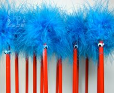 ideas for dr seuss' birthday #thing 1 thing 2