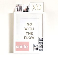 Today I will... Go with the flow & smile ! #tgif - Regram @monicabeatrice thank you for featuring #garancedorepaper !!!