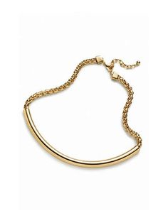 Nordstrom Metal Bar Statement Necklace
