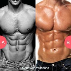 Eight pack or six pack? Click here to vote @ http://getwishboneapp.com/share/10837484