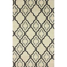 nuLOOM Handmade Moroccan Trellis Natural Wool Rug (8'3 x 11') - Overstock™ Shopping - Great Deals on Nuloom 7x9 - 10x14 Rugs