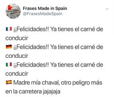 Imagenes de Chistes #memes #chistes #chistesmalos #imagenesgraciosas #humor Healthy Skin Care, Good Times, Haha, Spain, Funny Memes, The Incredibles, Instagram, Quotes, Fun Time
