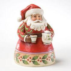 Jim-Shore-Heartwood-Creek-Cup-of-Christmas-Cheer-Santa-NEU-OVP