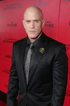 Bruno Gunn seen at Lionsgate's 'The Hunger Games: Catching Fire' Los Angeles Premiere, on Monday, Nov, 18, 2013 in Los Angeles. #thegrand #hungergames #cinema