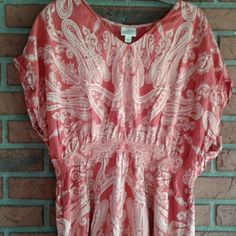 21ccff03194b4 I just discovered this while shopping on Poshmark: St John's Bay Pink/Rose  Tunic/.... Check it out! Price: $17 Size: 1X, listed by maineiacmakeup