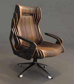 Ознакомьтесь с моим проектом @Behance: «chair concept» https://www.behance.net/gallery/52353173/chair-concept