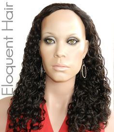 Indian Remy Loose Curls Half Wig,  (http://www.eloquenthair.com/indian-remy-loose-curls-half-wig/)