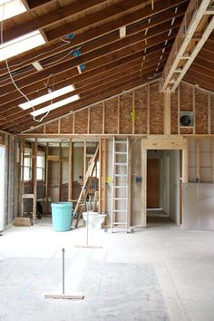 Vaulting A Ceiling Ranch House