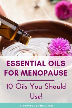 These essential oils for menopause relief are great for natural hormone balance during menopause. From mood swings to hot flashes and vaginal dryness, these essential oils for menopause symptoms are powerful natural remedies you can rely on. Menopause Relief, Menopause Symptoms, Menopause Diet, Herbal Remedies For Menopause, Menopause Supplements, Menopause Signs, Post Menopause, Cough Remedies For Adults, Balance Hormones Naturally