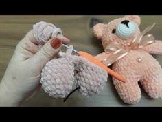Amigurumi Little Bear Free Crochet Patte Amigurumi - Diy Crafts - DIY & Crafts Crochet Teddy Bear Pattern, Crochet Amigurumi Free Patterns, Crochet Bunny, Cute Crochet, Baby Knitting Patterns, Crochet Dolls, Knitting Machines For Sale, Small Teddy Bears, Diy Crafts Crochet