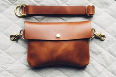 classic festival fanny pack in saddle tan / vegetable tanned