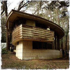 The only home in Florida designed by Frank Lloyd Wright, Tallahassee