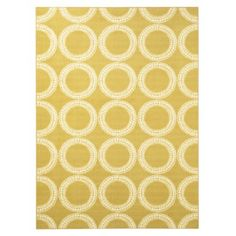 Room Essentials® Circles Area Rug - for the girls' room Room Rugs, Area Rugs, Yellow Kids Rooms, Target Rug, Condo Decorating, Decorating Ideas, Yellow Rug, Kids Room Design, Room Essentials