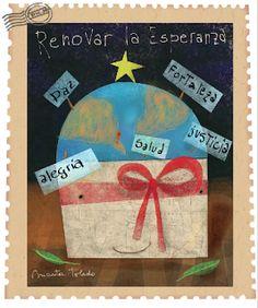 MartaToledo Ilustraciones: Feliz Nuevo año!! Drawings, Joy, Happy, Illustrations, Art, Sketch, Portrait, Drawing, Resim