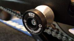KAWASAKI VERSYS 650 MGS Performance Rear Paddock Stand Bobbins Cotton Reels in Vehicle Parts & Accessories, Motorcycle Parts, Other Motorcycle Parts | eBay