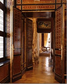 Juan Pablo Molyneux's house has a gorgeous enfilade of rooms.