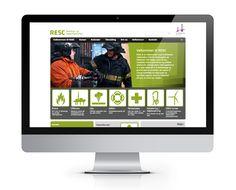 Die  fachspezifischen Kurse bei RESC bilden den Kern der Unternehmensdienstleistungen. Aus diesem Grund haben alle Fachbereiche auf der Homepage ihren eigenen Navigationszugang durch Piktogramme.