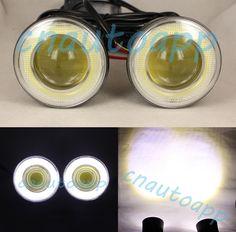 50.00$  Buy here - http://alij27.worldwells.pw/go.php?t=32324779000 - COB 28W Fog Lamp LED Foglight DRL Work Light Angel Eyes Projector For Car SUV BUS Truck Motorcycle - 2 PCS (2.5 Inch) 12V-24V 50.00$