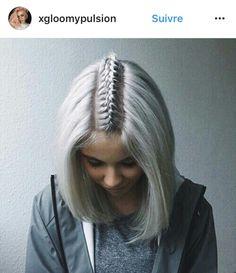 Middle braid