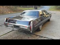 Cadillac Fleetwood 1971 - YouTube
