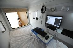 People in a pod: Capsule hotel opens in China