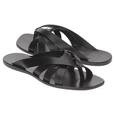 Bally mens sandals Leather Cuffs, Leather Shoes, Male Fashion Trends, Mens Fashion, Men Sandals, Summer Wear, Huaraches, Cartier, Men's Shoes