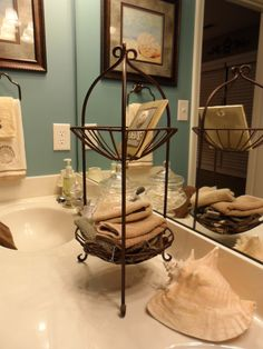 home decor bathroom pinterest - Bathroom Counter Decorating Ideas