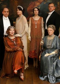 Downton Abbey-tonight's premiere! Can't wait!