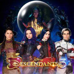 The Descendants, Cameron Boyce Descendants, China Anne Mcclain, Decendants, Queen Art, 3 Movie, New Poster, Film Serie, Disney Quotes