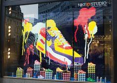 Nike ID shop window