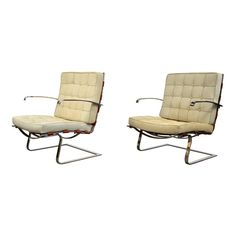 Mies Van Der Rohe and Lilly Reich Tugendhat Chairs - a Pair